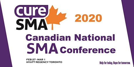 Canadian National SMA Conference tickets