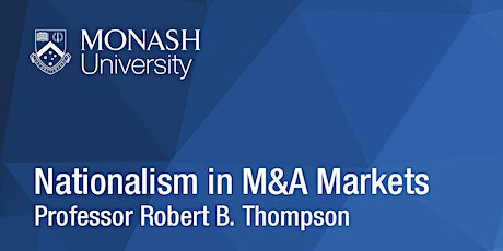 CLARS Seminar Series: Nationalism in M&A Markets tickets