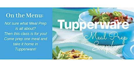 Meal Prep Sampler Jan 30 tickets