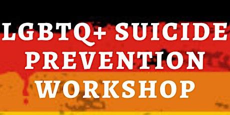 LGBT+ Suicide Prevention Workshop tickets