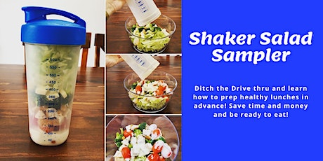 Shaker Salad Sampler Jan 28 tickets