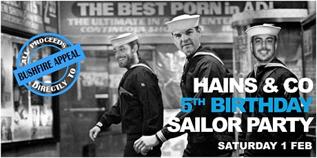 "Hains 5th Birthday ""Sailor Party"" - Every Cent Helps Fight Fires tickets"