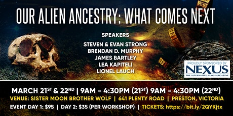 Our Alien Ancestry: What Comes Next - Melbourne tickets