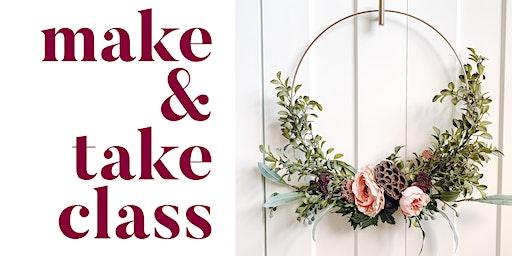 DIY Hoop Wreath Make & Take Class