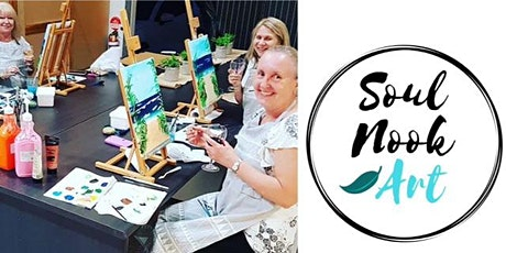 #imadeitmyself  - Sip 'n' Paint Socials  with Soulnook Art  tickets