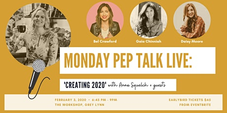 Monday Pep Talk Live: Creating 2020! tickets