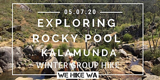 Winter Group Hike: Rocky Pool, Kalamunda