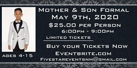 Mother & Son Formal tickets