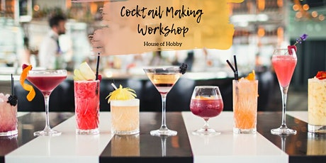 Friday Night Cocktails - Cocktail Making Workshop tickets