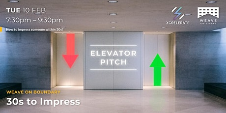 Weave Workshop: Elevator Pitch tickets