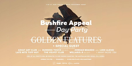 Bushfire Appeal — Day Party tickets