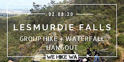 Lesmurdie Falls Group Hike + Waterfall Hangout
