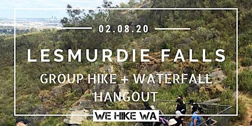 Lesmurdie Falls Group Hike + Waterfall Hangout