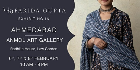 Farida Gupta Ahmedabad Exhibition tickets