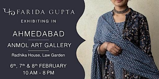 Farida Gupta Ahmedabad Exhibition