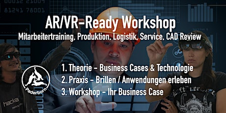 AR/VR - Ready Workshop für die Industrie. Edition Paderborn. 26. Feb 2020 @ Fraunhofer IEM Tickets