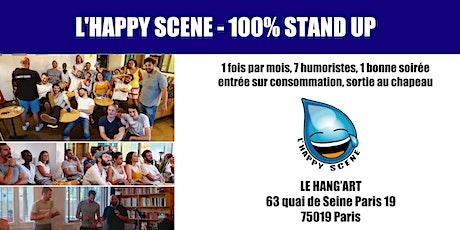 L'Happy Scene - Stand up au Hang'Art 28/01 billets