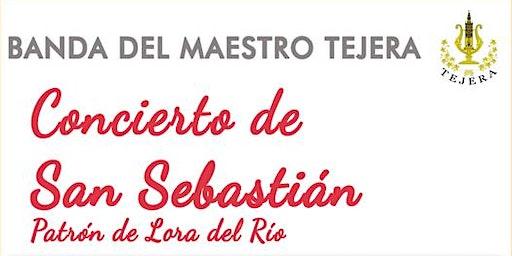 Concierto en honor a San Sebastián (Banda de Música del Maestro Tejera)