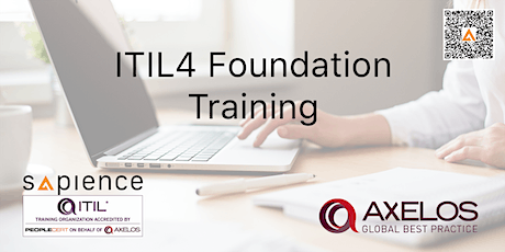 ITIL4 Foundation Training - Brunei (3 Days Instructor Led Classroom Training - 2020 Schedule) tickets