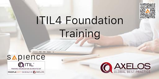 ITIL4 Foundation Training - Brunei (3 Days Instructor Led Classroom Training - 2020 Schedule)