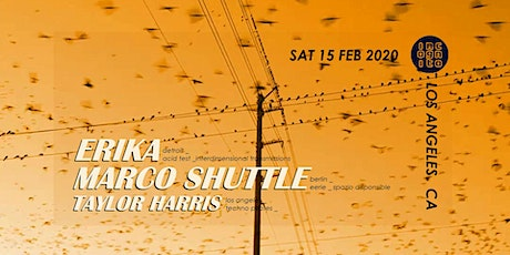 INCOGNITO presents Marco Shuttle & Erika tickets