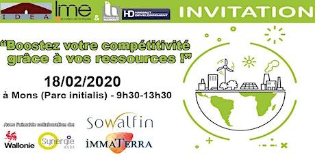 Conférence sur l'Economie circulaire le 18/02 à Mons (Initialis) billets