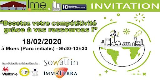 Conférence sur l'Economie circulaire le 18/02 à Mons (Initialis)