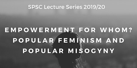 SPSC Lecture Series - 5th February - Professor Sarah Banet-Weiser tickets