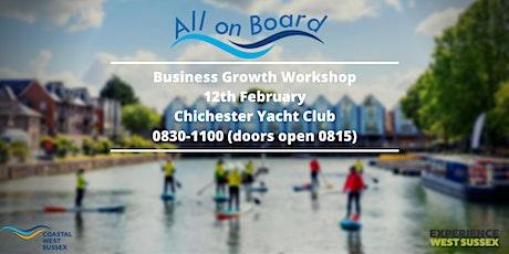 Business Growth Workshop - Chichester tickets