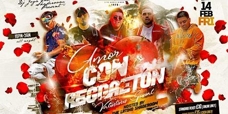 Amor con Reggaeton (Valentines Special) - Latino Shade Room tickets