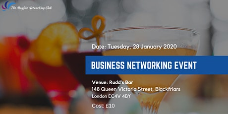 Business Networking : The Mayfair Networking Club Event on 28 January 2020 tickets