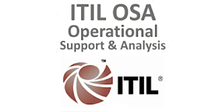ITIL® – Operational Support And Analysis (OSA) 4 Days Training in Paris billets