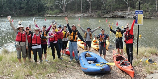Kayaking Bushcare Volunteer Workday at Lake Parramatta - 23 February 2020