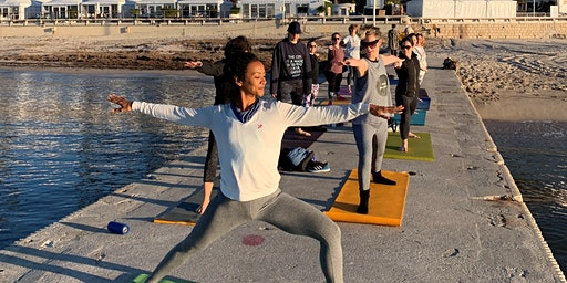 MIPIM 2020 Yoga on the Beach