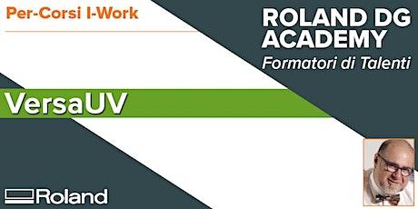 Corso Roland VersaUV | 30-31 Gennaio 2020 biglietti