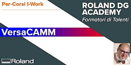 Corso Roland VersaCAM | 28-29 Gennaio 2020 biglietti