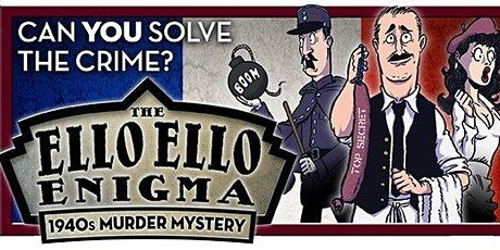 Ello Ello Enigma Murder Mystery Evening tickets