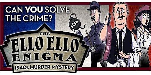 Ello Ello Enigma Murder Mystery Evening