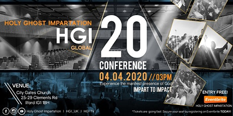 HOLY GHOST IMPARTATION 2020 tickets