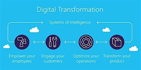 4 Weeks Digital Transformation training in Geneva tickets