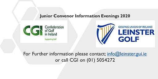 Leinster Golf & CGI Junior Convenor Evening- Carlow