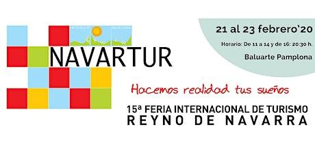 Navartur 2020 :: XV Feria Internacional de Turismo Reyno de Navarra entradas