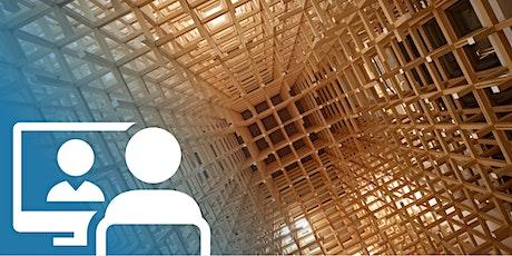 Webconference | Progettare con il legno - Qualificazione dei materiali e controlli di accettazione biglietti