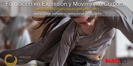 Formación en Expresión y Movimiento Corporal - Madrid entradas