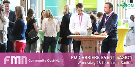 FMN Community Oost - FM Carrière event Saxion tickets