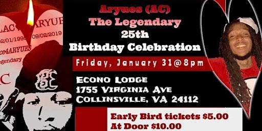 Aryues's(AC)25th Birthday Celebration