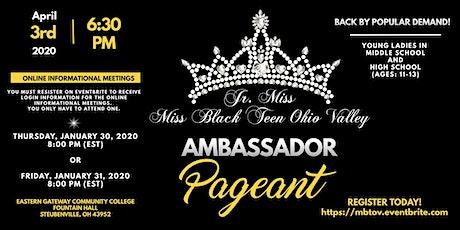 Jr. & Miss Black Teen Ohio Valley Pageants tickets