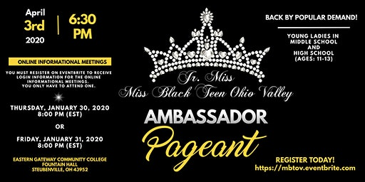 Jr. & Miss Black Teen Ohio Valley Pageants