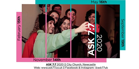 ASK 7:7 - 2020 tickets