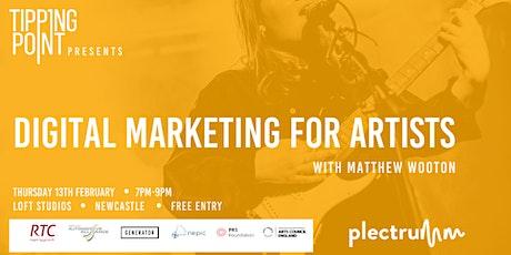Digital Marketing for Artists tickets